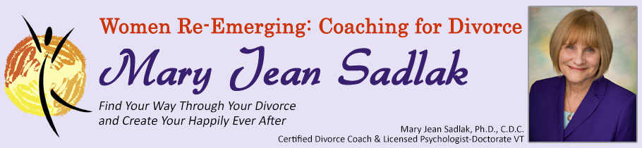 Coaching for Divorce - Mary Jean Sadlak
